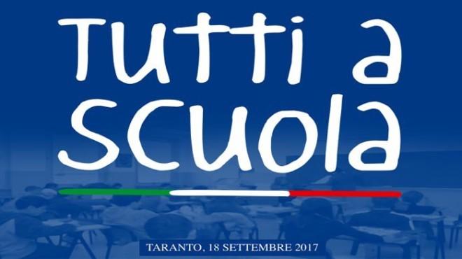 Cerimonia Nazionale Inaugurazione Anno Scolastico 2017/2018 – Taranto