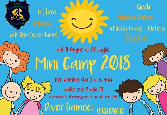 Inizia il Grest Mini Camp 2018!