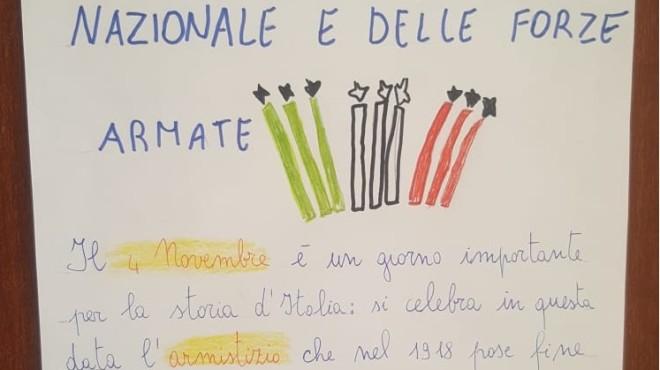 Festa dell'Unità d'Italia e delle Forze Armate a.s. 2019-2020