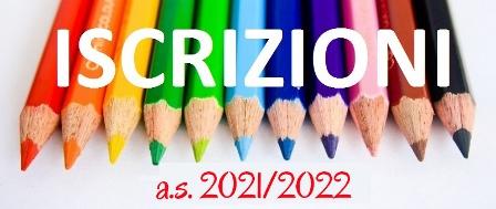Iscrizioni a. s. 2021/22